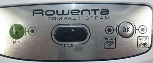 Centrale Vapeur - Rowenta Compact Steam DG7520F0 - Commandes