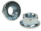 Metric Serrated Flanged Hexagon Full Nuts