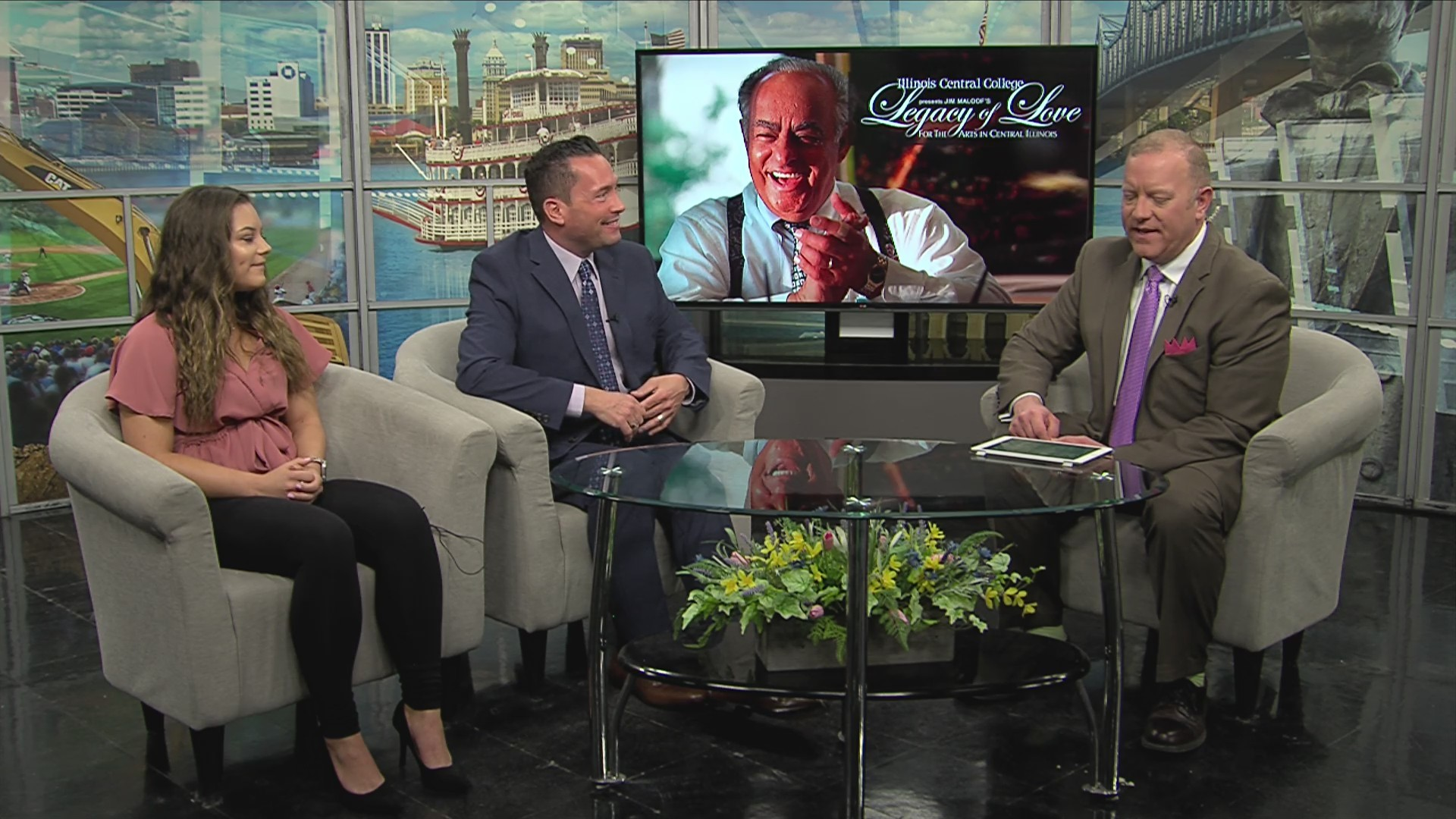 WMBD This Morning: Legacy of Love for the Arts