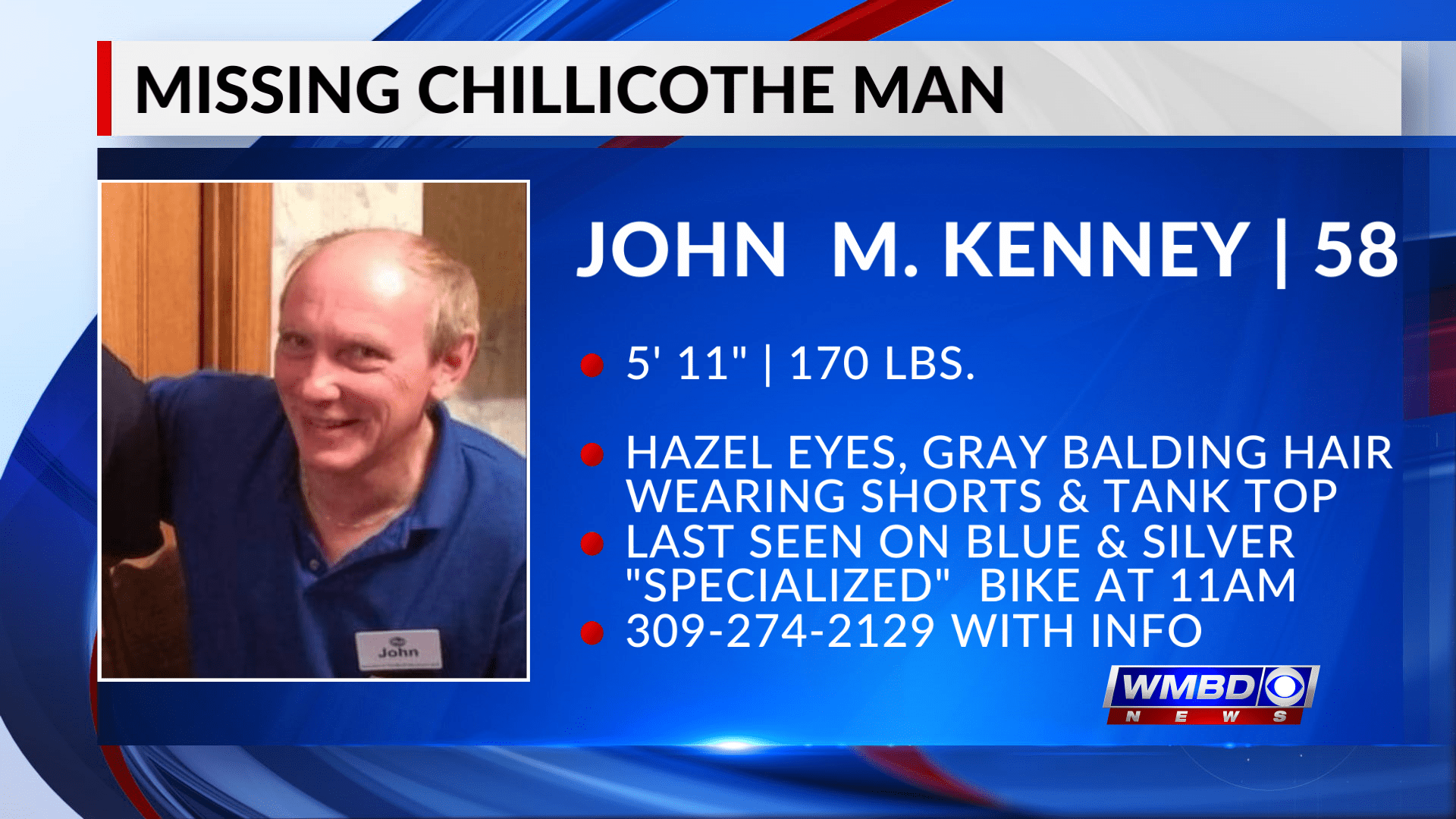 Missing man found after search by Chillicothe Police