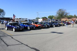 At the start in Marion