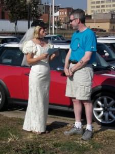 Greg, Judy Beachy renew wedding vows
