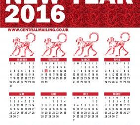happy chinese new year 2016 free download inside - Chinese New Year 2016 Calendar