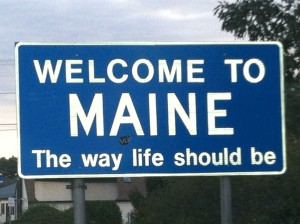 Welcome to Maine large image