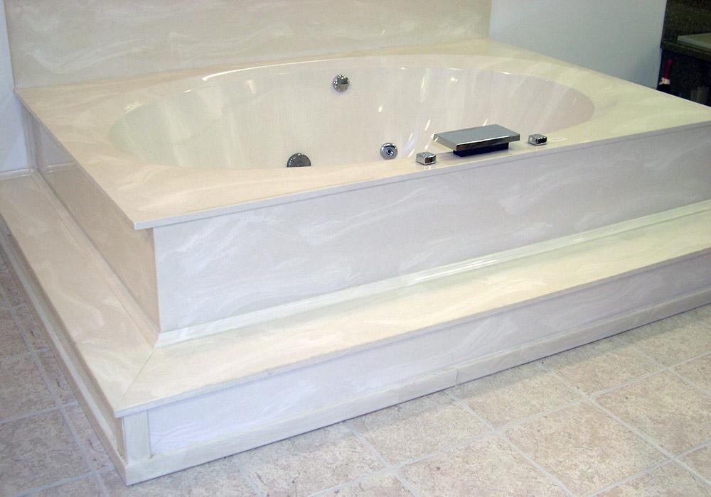 Custom Tub Decks Bathtub Decks Cultured Marble Tub Decks