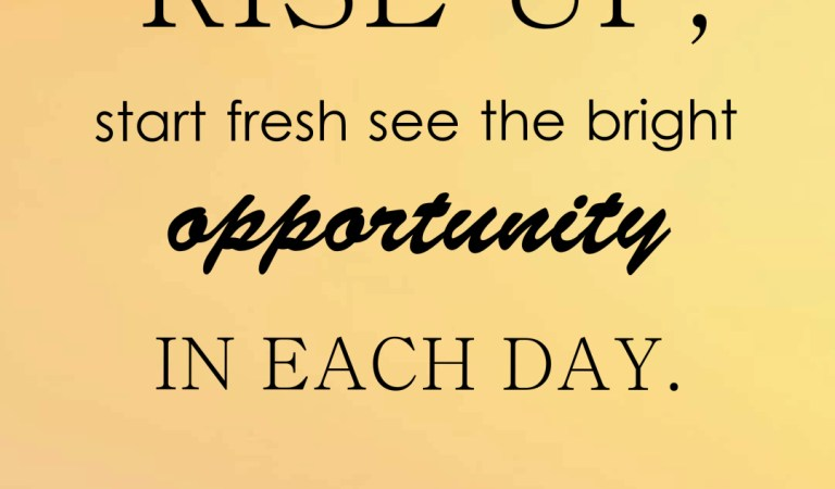 Top 50 Opportunity Quotes and Sayings