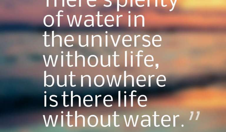 30 Inspirational Water Quotes And Sayings