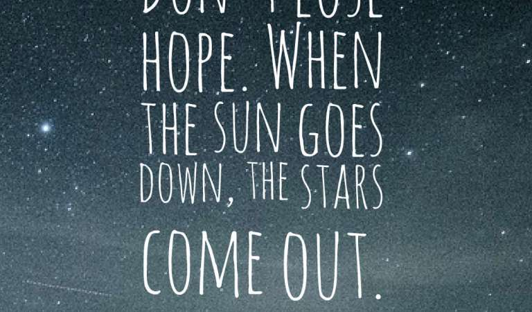 47 Inspirational Hope Quotes And Sayings