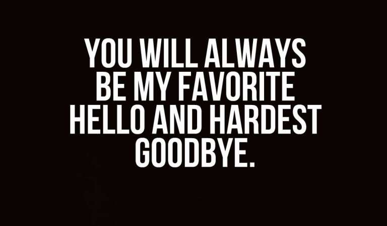 42 Inspirational Farewell Quotes And Sayings
