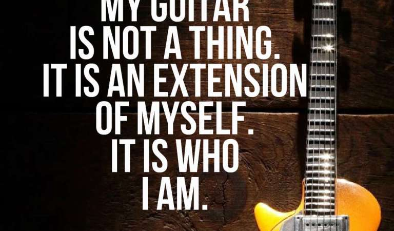 32 Best Guitar Quotes and Sayings