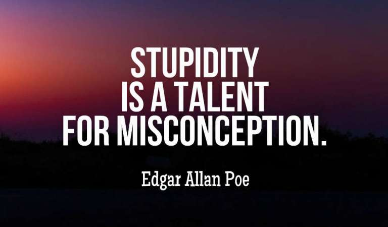 Stupidity Quotes: 45 Quotes About Stupidity and Ignorance