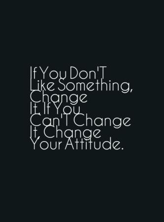 50 Attitude Quotes & Behavior Sayings