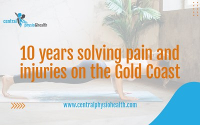 Central Physio & Health celebrates 10 years solving pain and injuries on the Gold Coast