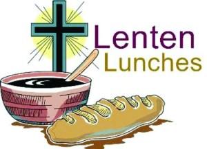 LENTEN LUNCHEON BIBLE STUDIES