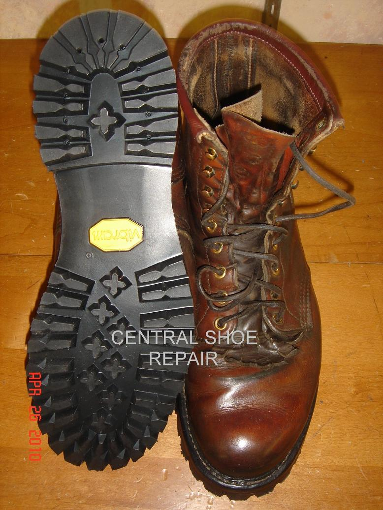 Central Shoe Repair Before After Pics