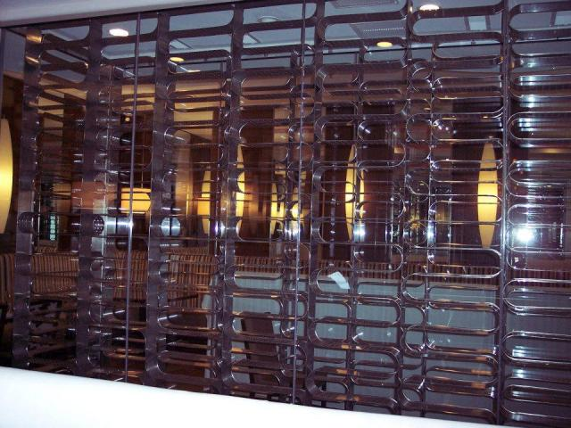 Custom Stainless Steel Wine Rack