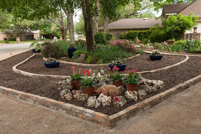 Front yard makeover no grass: Doris Reagan | Central Texas ... on No Grass Backyard  id=13336