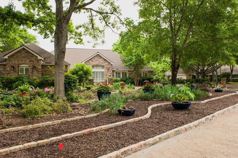 Front yard makeover no grass: Doris Reagan | Central Texas ... on No Grass Backyard  id=70644
