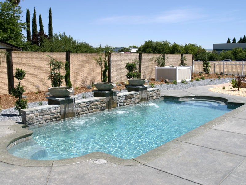 central valley fiberglass pool co