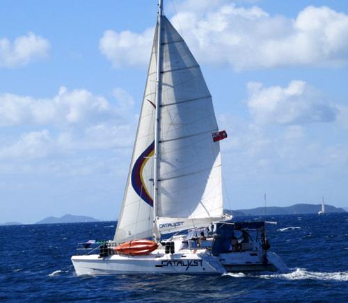 CATALYST yacht main image