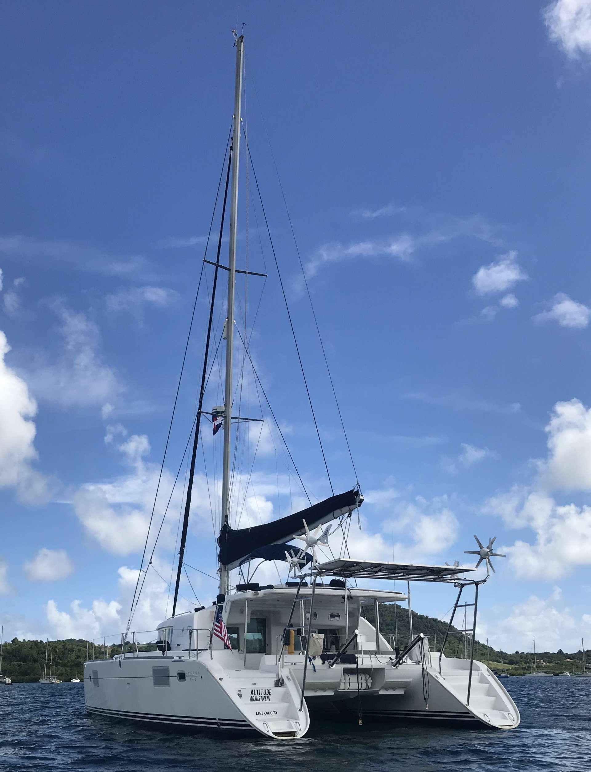 ALTITUDE ADJUSTMENT yacht image # 12
