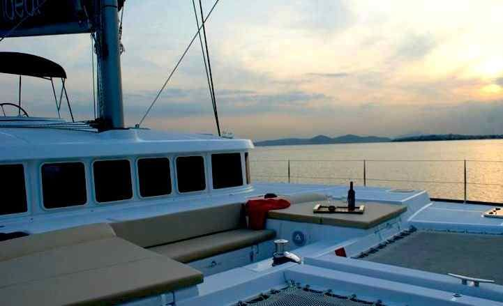 White House Catamaran Crewed Sailing Charter