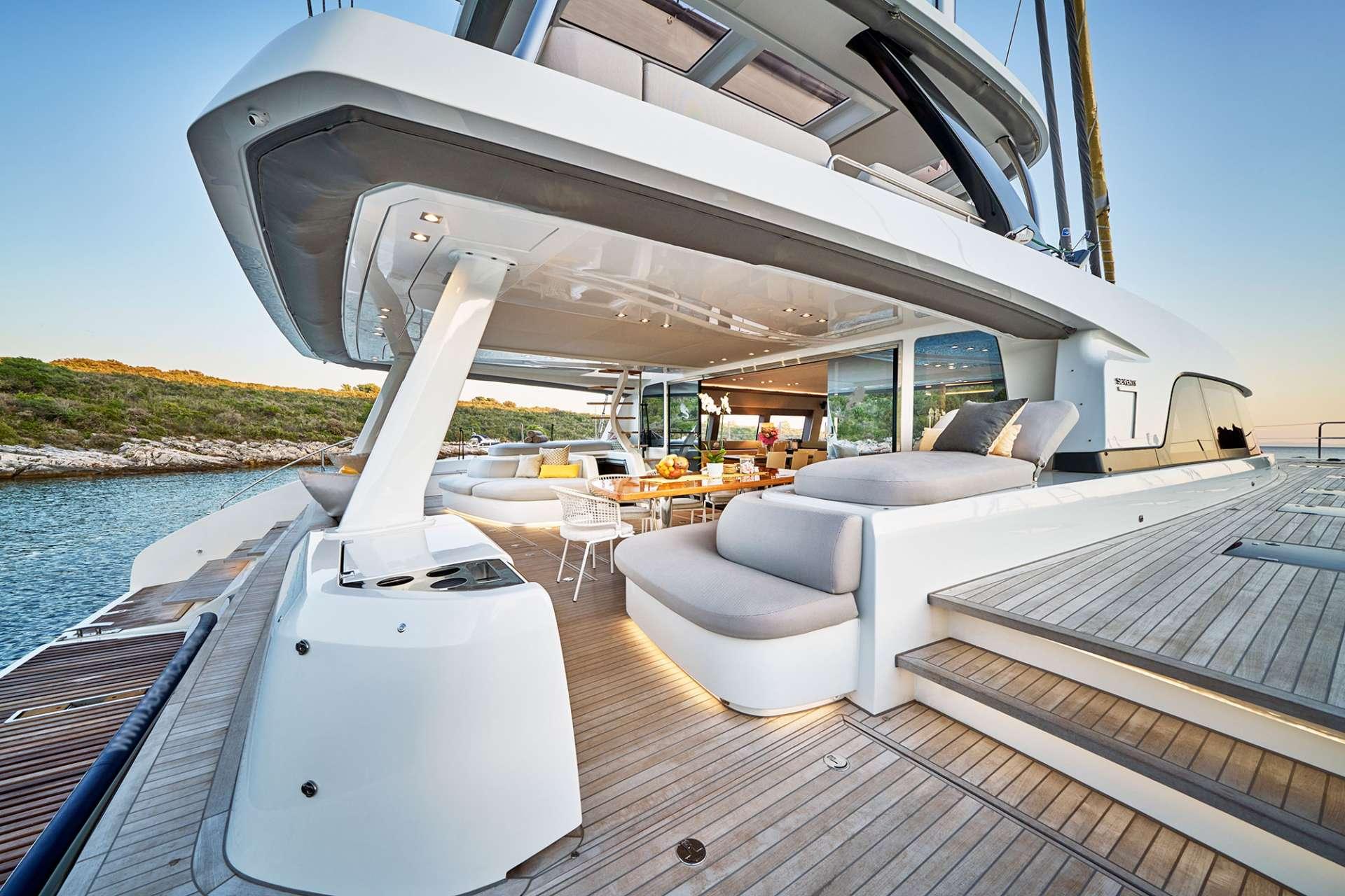Image of ADRIATIC DRAGON (Lagoon 77) yacht #17