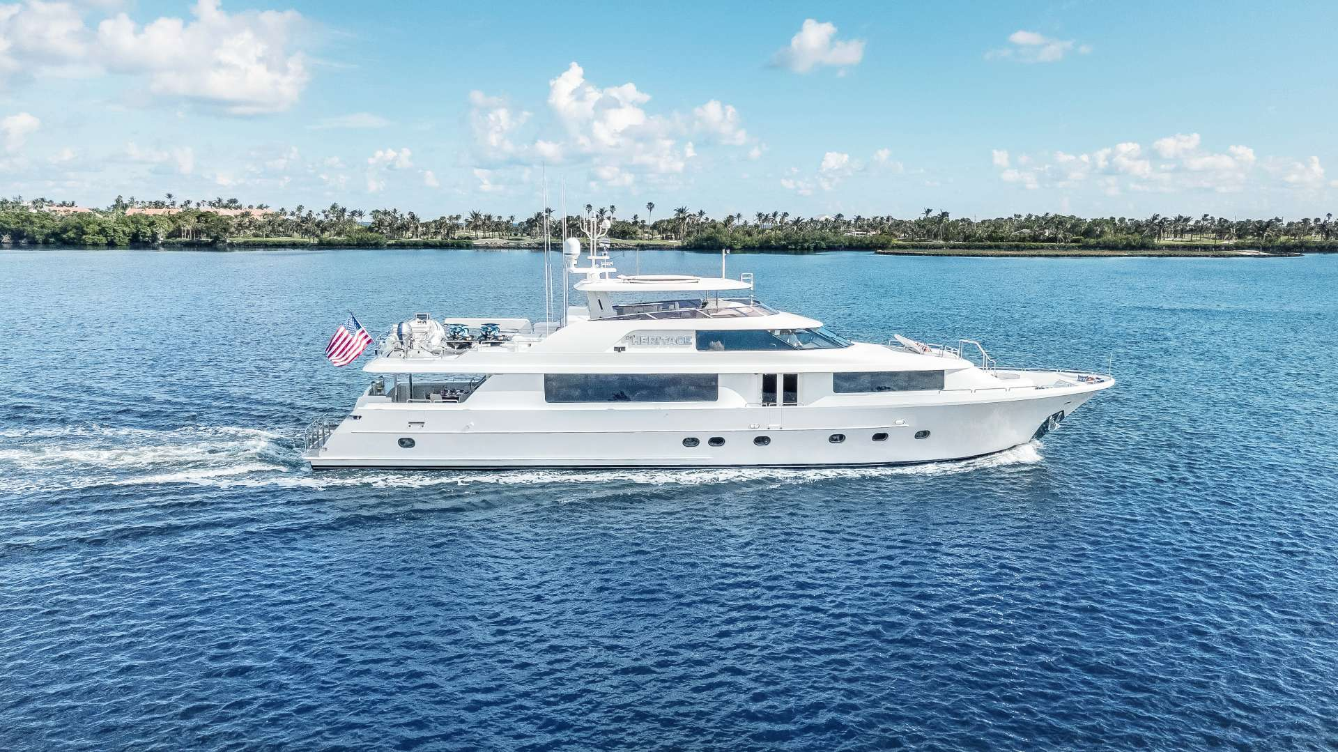 Main image of OUR HERITAGE yacht