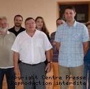 Les participants lors de la réunion.