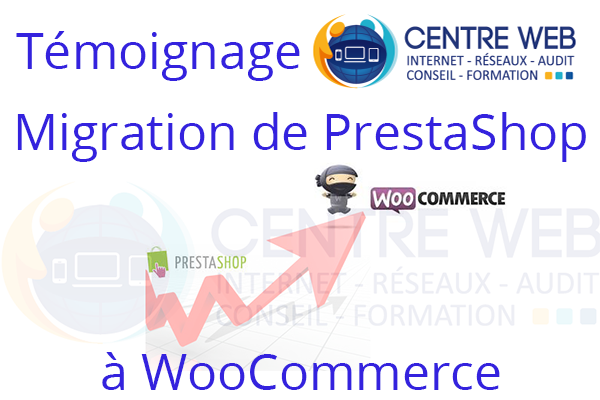 Migration de PrestaShop à Woocommerce