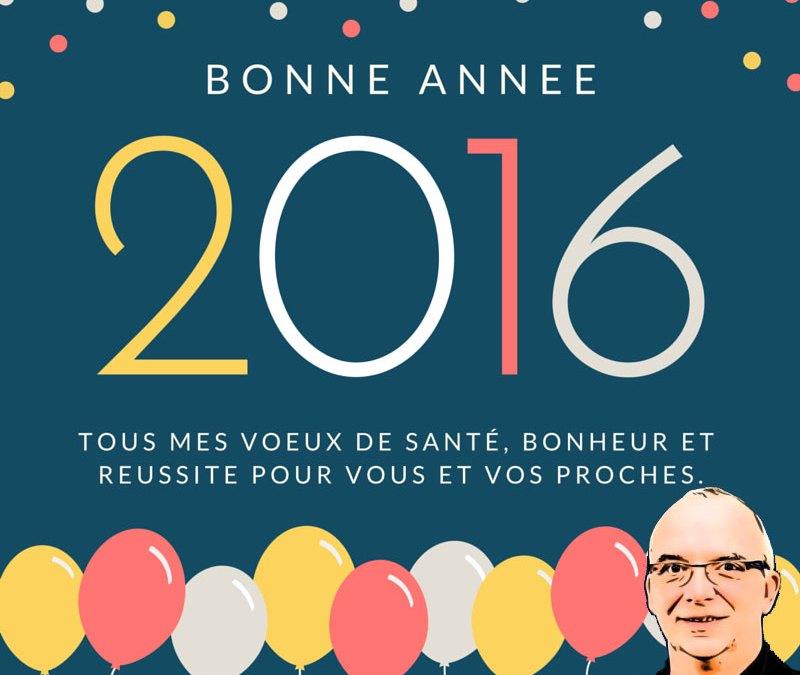 Meilleurs voeux 2016.