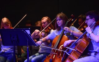the Centre Symphony Orchestra performing