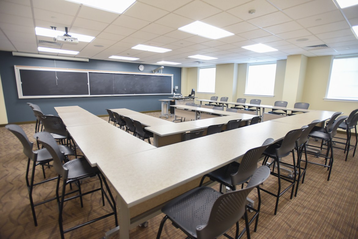 Young Hall classroom