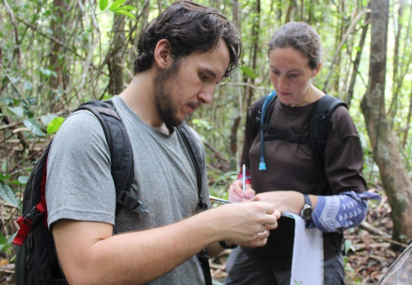 Jimmy Robinson '18 interning with Borneo Nature Foundation