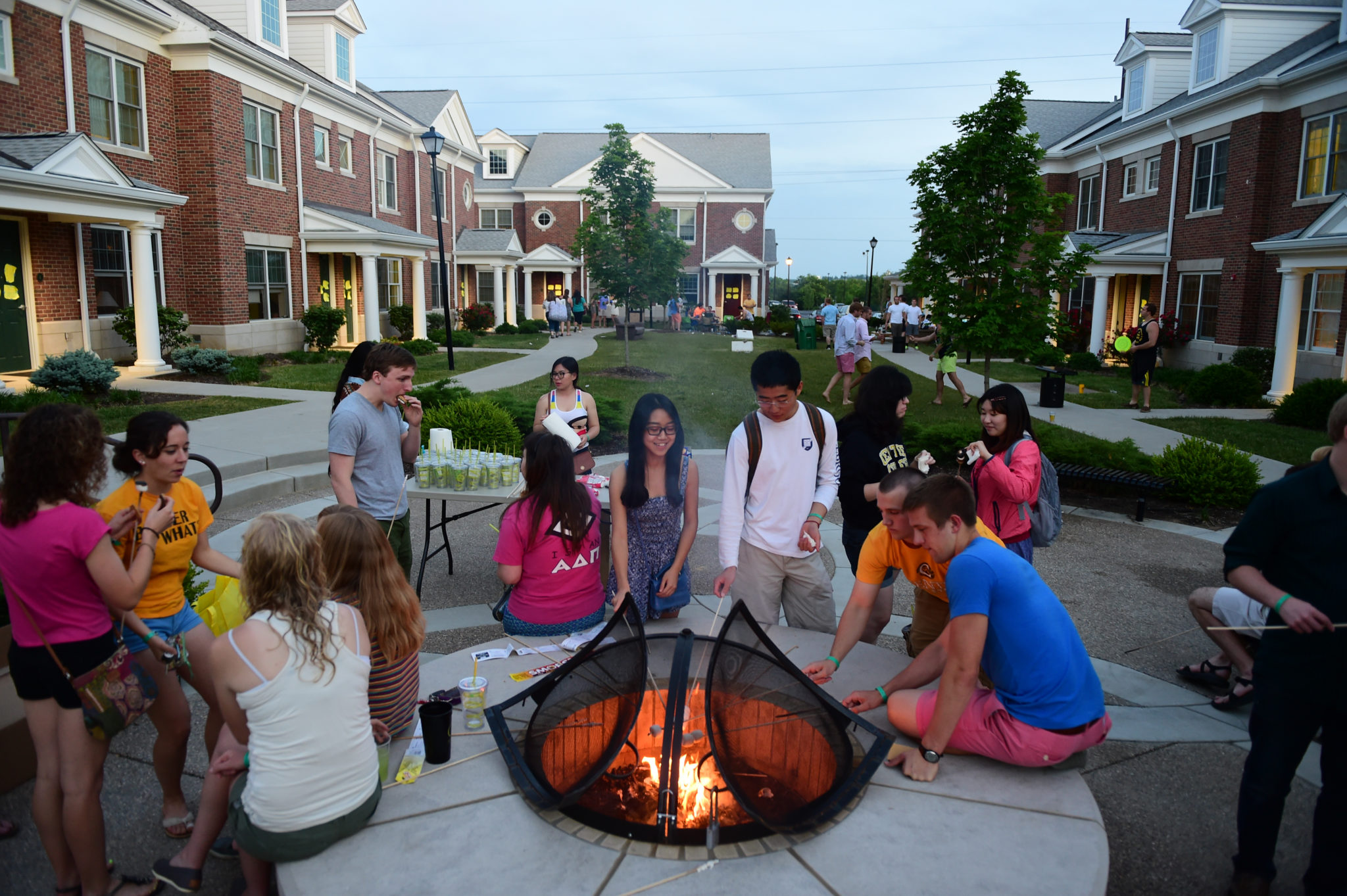 Senior Week 2014 Activities outside of Brockman Commons