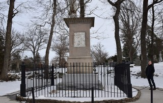 monument in cemetery