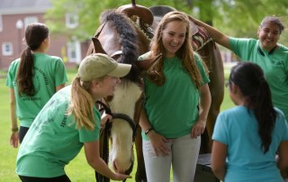 The Centre College Equestrian Club hosted pony rides on campus