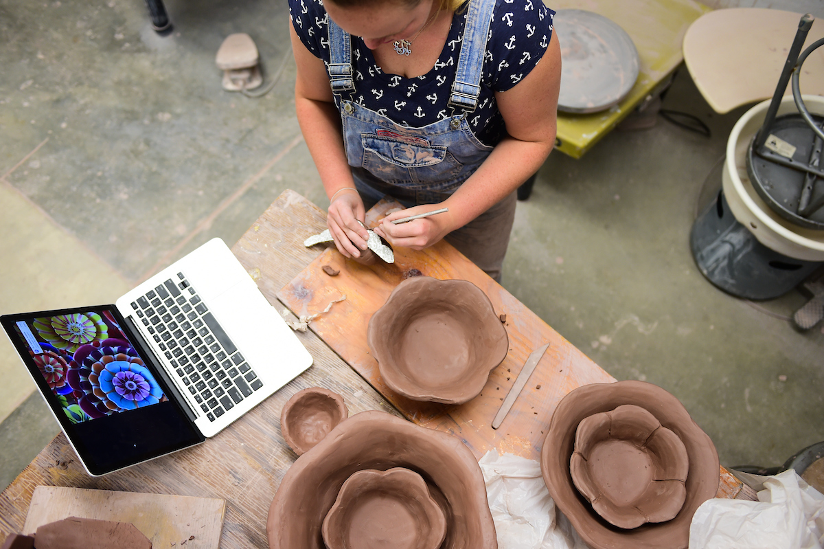 Clay art project