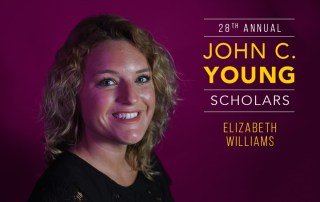 Elizabeth Williams John C. Young Scholar