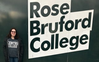 Takes Centre stage at London's Rose Bruford College