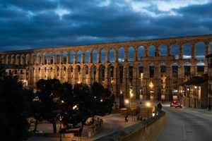 Photo of the Aqueduct of Segovia