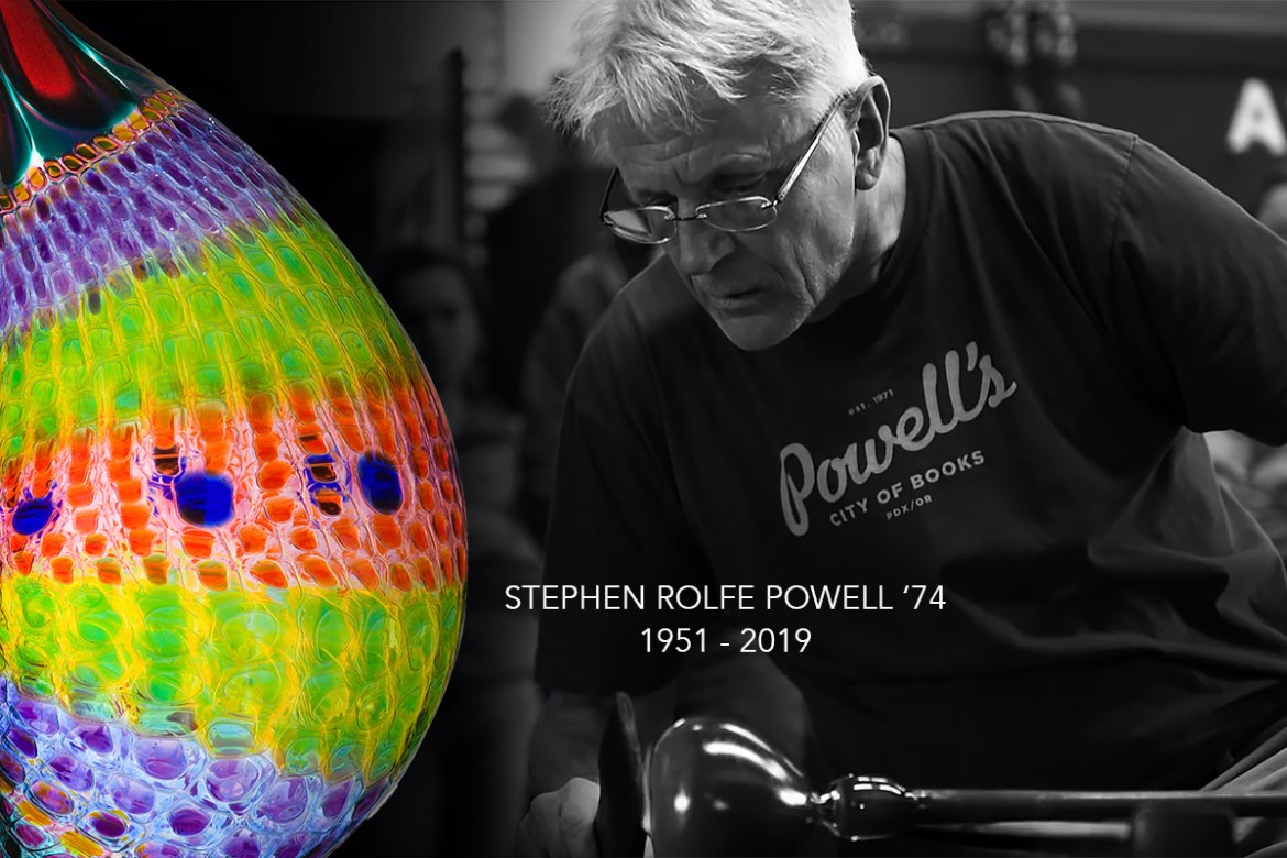 Stephen Rolfe Powell tribute