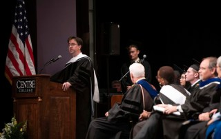 Kentucky historian Stuart Sanders '95 delivers the 2019 Commencement address