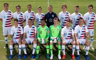 Carter Alvey '22 represents the United States in the Paralympics Soccer World Cup in Spain