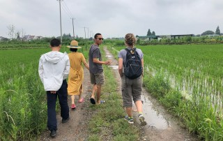 Melanie Manning'20 and Ellie Davenport'20 spend summer in Shanghai building relationships and learning about sustainable farming