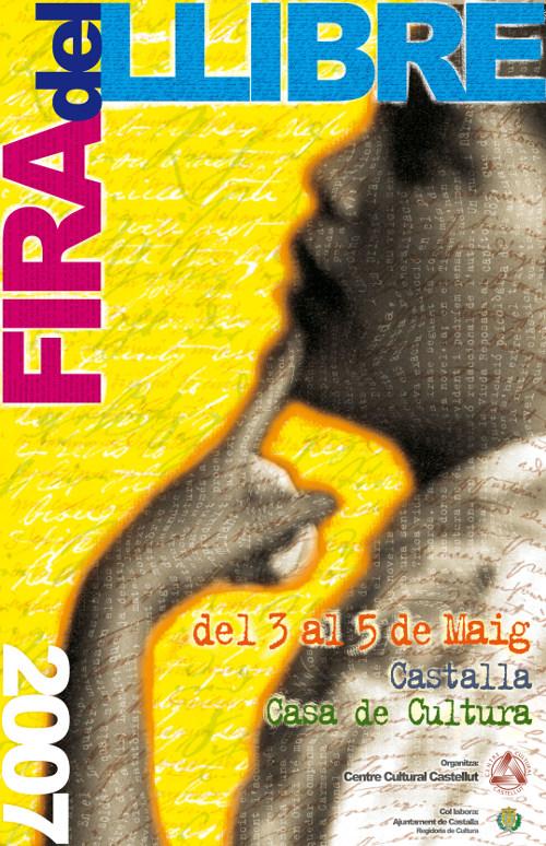 Cartell Fira del Llibre 2007