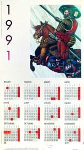 1991 calendari