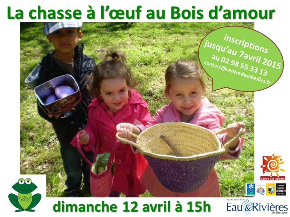 affiche chasse oeuf 2015