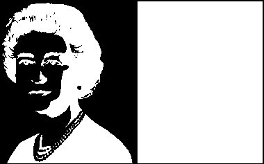 Physiological optical illusion – Queen