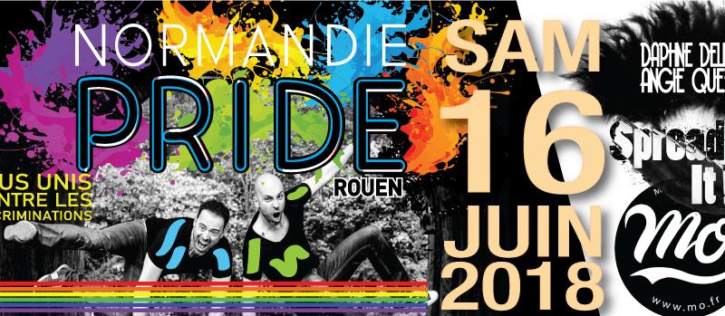 Marches des fiertés normandes 2018 le 2 juin à Caen et le 16 juin à Rouen : Nos droits et notre santé ne sont pas à négocier!